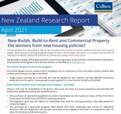 New Zealand Research Report - April 2021