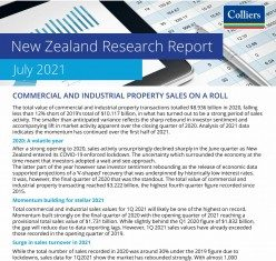 New Zealand Research Report - July 2021
