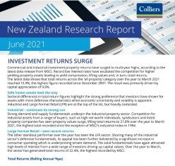 Colliers New Zealand Research Report - June 2021