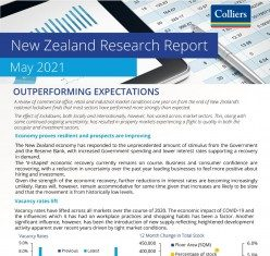 Colliers New Zealand Research Report - May 2021