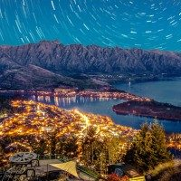 Queenstown night sky istock large Large Office